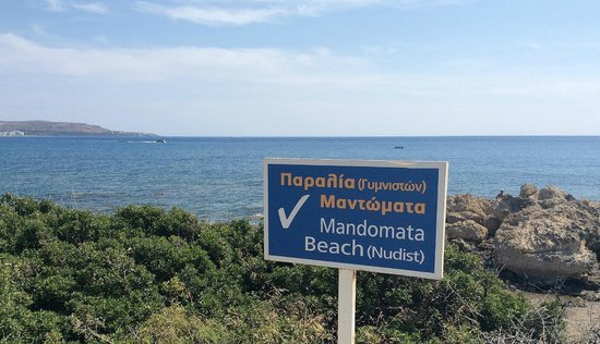 Faliraki Nudist Beach